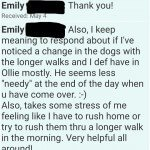 San Marcos CA Pet Sitter offers Untimed pet siting