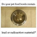 USA made Lead free dog bowls and cat bowls