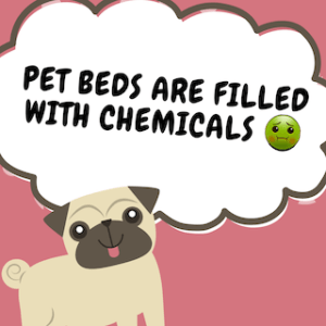 Pet beds from China are loaded with Chemicals