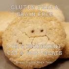 Homemade GF pumpkin cat treat and Vegan dog treat